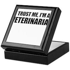 Trust Me, Im A Veterinarian Keepsake Box