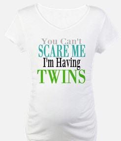 You Cant Scare Me Twins Shirt