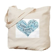 Jacob Tirzah Kids Names Tote Bag
