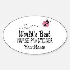 World's Best Nurse Practitioner Decal