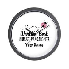 World's Best Nurse Practitioner Wall Clock