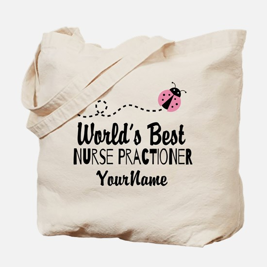 World's Best Nurse Practitioner Tote Bag