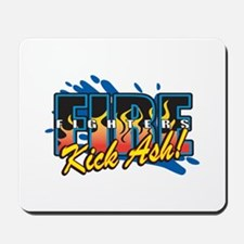 Firefighters Kick Ash! Mousepad