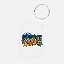 Firefighters Kick Ash! Keychains