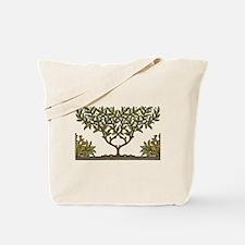 William Morris Vintage Tree Floral Design Tote Bag