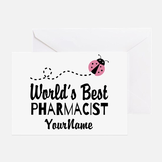 World's Best Pharmacist Greeting Card