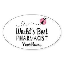 World's Best Pharmacist Decal
