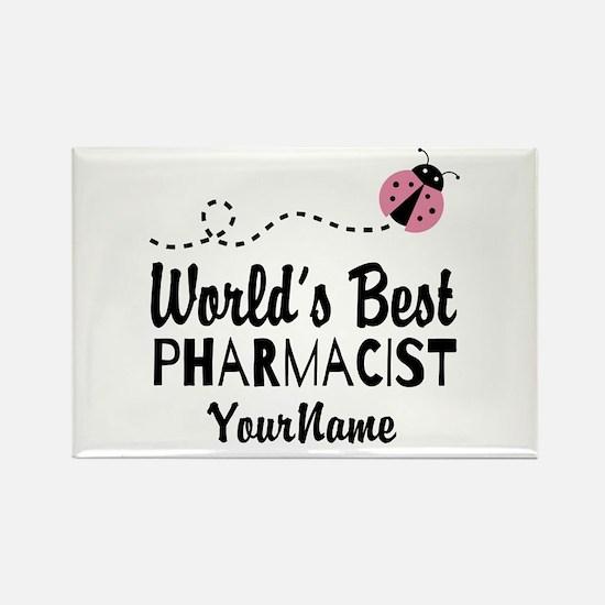 World's Best Pharmacist Rectangle Magnet
