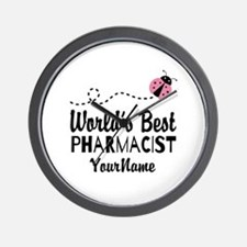 World's Best Pharmacist Wall Clock