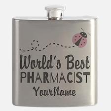 World's Best Pharmacist Flask