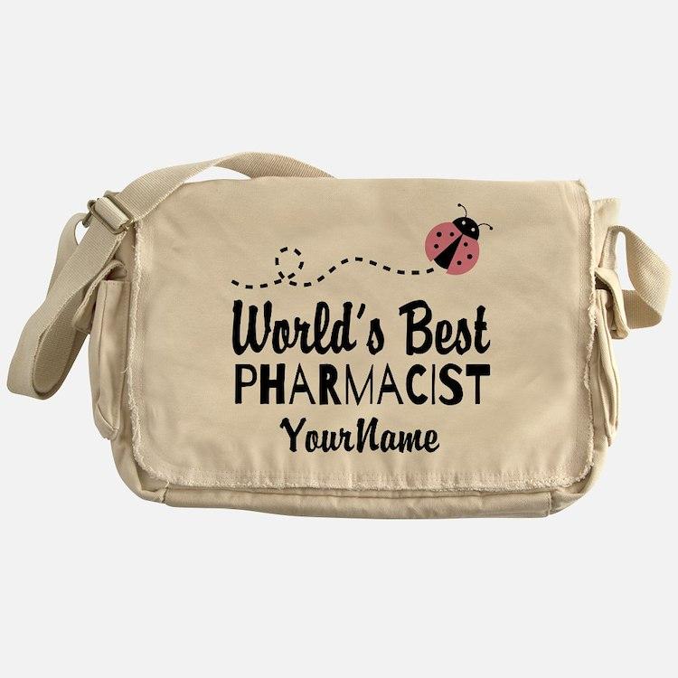 World's Best Pharmacist Messenger Bag