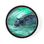 Swimming Seal Wall Clock