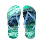 Swimming Seal Flip Flops
