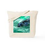 Swimming Seal Tote Bag