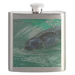 Swimming Seal Flask
