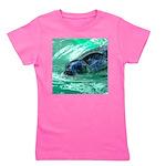 Swimming Seal Girl's Tee