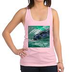 Swimming Seal Racerback Tank Top