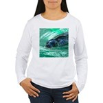 Swimming Seal Long Sleeve T-Shirt
