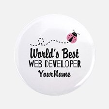 "World's Best Web Developer 3.5"" Button"