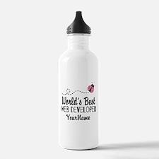 World's Best Web Devel Water Bottle