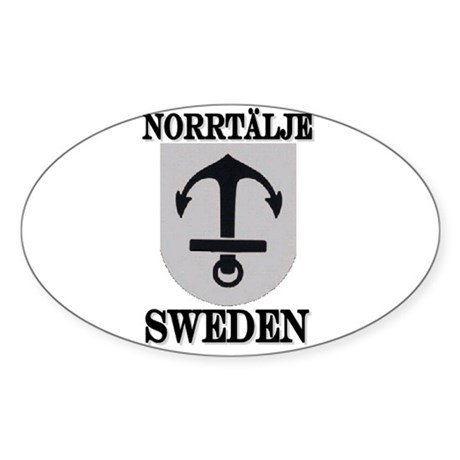 The Norrtälje Store Oval Sticker
