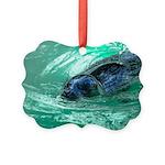 Swimming Seal Ornament