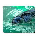 Swimming Seal Mousepad