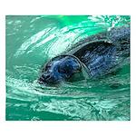 Swimming Seal King Duvet