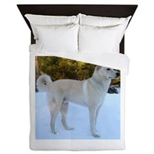 CanaanDog full Queen Duvet