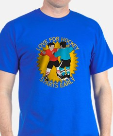 Love For Hockey Starts Early T-Shirt
