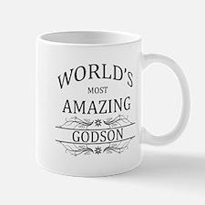 World's Most Amazing Godson Mug