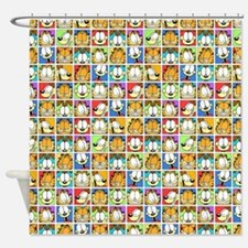 Garfield Face Time Shower Curtain
