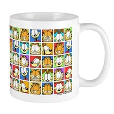 Garfield Face Time Small Mug