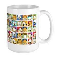 Garfield Face Time Ceramic Mugs