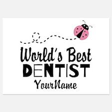World's Best Dentist Invitations