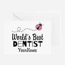 World's Best Dentist Greeting Card