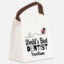 World's Best Dentist Canvas Lunch Bag