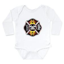 Volunteer Firefighter Long Sleeve Infant Bodysuit