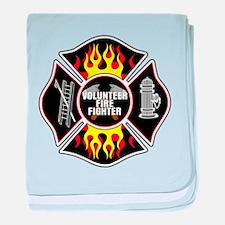 Volunteer Firefighter baby blanket