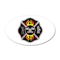 Volunteer Firefighter Wall Sticker