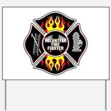 Volunteer Firefighter Yard Sign