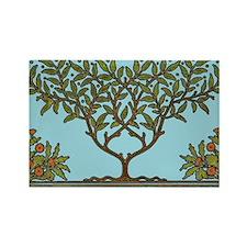 William Morris Vintage Tree Floral Design Magnets