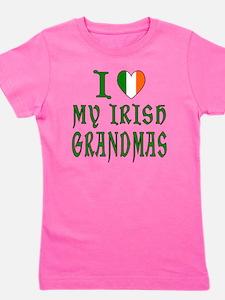 I Love My Irish Grandmas Girl's Tee