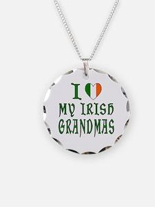 I Love My Irish Grandmas Necklace