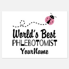 World's Best Phlebotomist Invitations