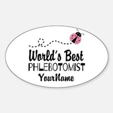 World's Best Phlebotomist Decal