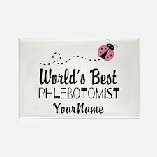 World's Best Phlebotomist Rectangle Magnet