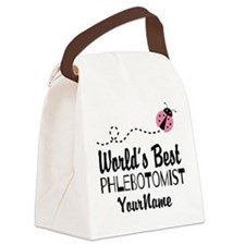 World's Best Phlebotomist Canvas Lunch Bag