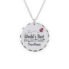 World's Best Phlebotomist Necklace
