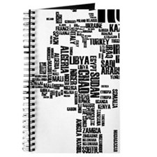 Typography Map Journal